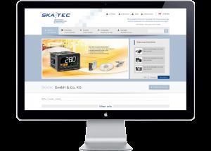 Referenz Webseite Skatec GmbH