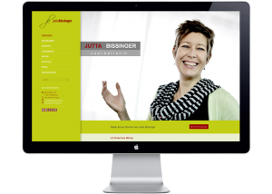Jutta Bissinger Webseite Referenz