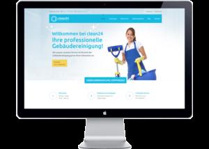 Kundenreferenz Webseite Gebäudereinigung Göppingen