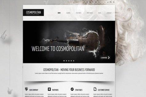 Screendesign Website